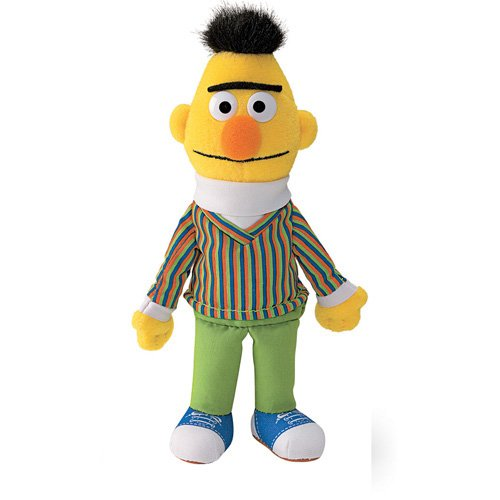 Sesame Street Plush Sesame Street Beanbag Bert 7