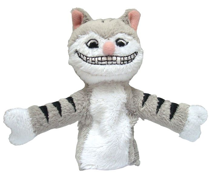 Cheshire Cat Soft Doll Toys Gifts Licensed New 2191 Finger Puppet UPG