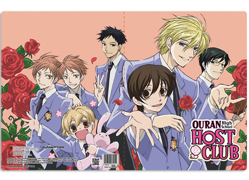 Pocket File Folder - Ouran High School - New Group Anime Licensed ge26102