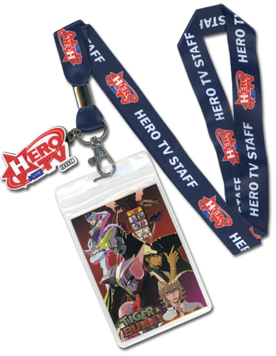 Lanyard - Tiger & Bunny - New Hero TV Toys Gifts Anime Licensed ge37503