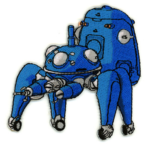 Patch - Ghost In The Shell - New Tachikoma Anime Iron On Toys Licensed ge7155