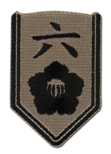 Patch - Bleach - New 06th Division Six Byakuya Kuchiki Iron On Anime ge7194