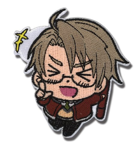 Patch - Hetalia - New World Series America Anime Iron-On Licensed ge83511