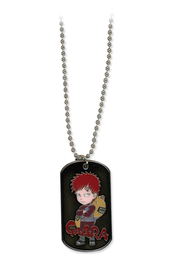 Necklace - Naruto Shippuden - New Chibi Kazekage Gaara Dog Tag Toys ge8717