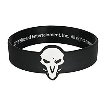 Overwatch Wristband D.va Rubber Bracelet Pink J8326 Good Heat Preservation