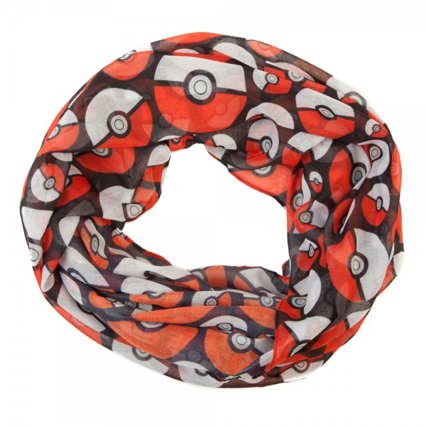 Viscose-Scarf-Pokemon-Pokeball-Infinity-New-Licensed-sf394fpok